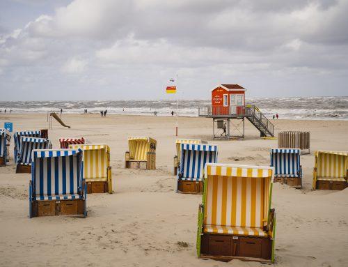 Stellenausschreibung für den Strandkorbservice